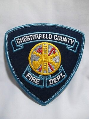 713 - CHESTERFIELD COUNTY VA Fire Department Patch