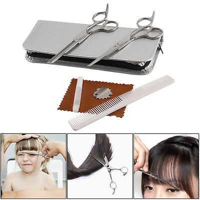 Professional Hair Cutting & Thinning Scissors Shears Hairdressing Set + Case