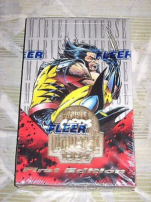 1994 Marvel Universe Iv 4 Unopened Sealed Trading Card Box! Wolverine Spider-Man