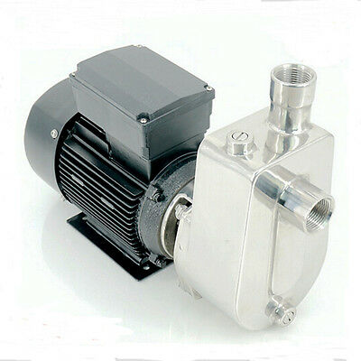 GEEG Stainless Steel Self Priming Jet Water Pump Industrial Chemical Pump 1100W