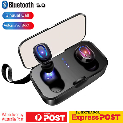 Wireless Bluetooth Earbuds TWS 3D Earphones Bluetooth V5.0 Headphones Headset
