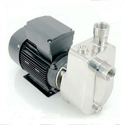 GEEG Stainless Steel Self Priming Jet Water Pump Industrial Chemical Pump 750W