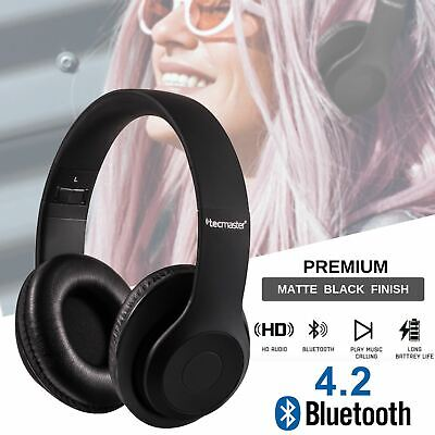 Bluetooth Wireless Headphones Earphones Headset Stereo Noise Cancelling With Mic