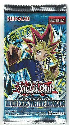 Yugioh Card Game | Legend of Blue Eyes White Dragon LOB Booster Pack