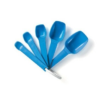 Tupperware Measuring Spoons - Blue - BRAND NEW