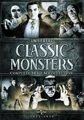Universal Classic Monsters: Complete 30-Film Collection (DVD, 2014, 21-Disc Set,