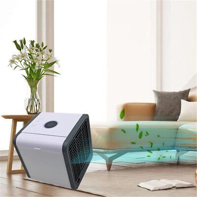 Portable Mini Air Conditioner Cool Cooling For Bedroom Arctic Air Cooler Fan AY