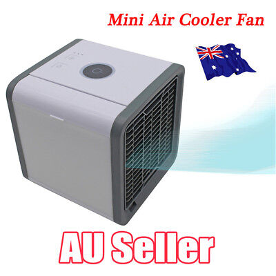 Portable Mini Air Conditioner Cool Cooling For Bedroom Arctic Air Cooler Fan BK