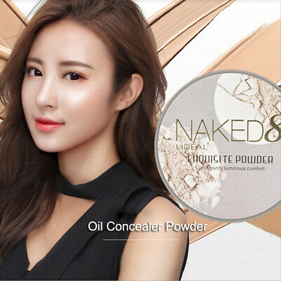 Makeup Pressed Powder Moisturizing Waterproof Oil Control Concealer Face Contour