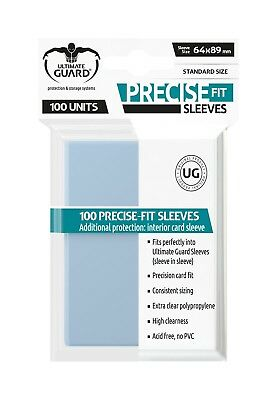 Ultimate Guard Precise-Fit Sleeves Standardgröße transparent (100 St.)