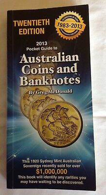 2013 Pocket Guide to Australian Coins and Banknotes – Greg McDonald