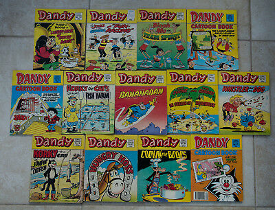 Job lot of Dandy Comic Library -13  Issues in total