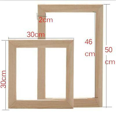 5D diamond / paint by numbers -DIY Wooden Picture Frames - 19 sizes