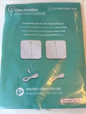 TensCare MamaTENS Replacement Electrodes with CIRCULAR lead connection