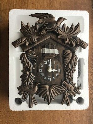 Brand New Acctim Hamburg Cuckoo Wall Clock