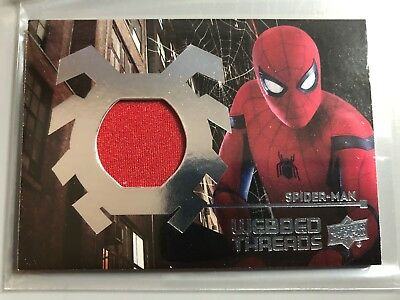 Spider-Man Homecoming Webbed Threads Relic Costume WTS10 Tom Holland Spiderman
