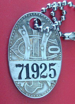 Antique Charge Coin Plate Tag: JOSEPH HORNE CO; Famous Dept Store Pittsburgh PA