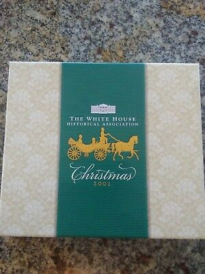 The White House Historical Association Christmas Ornament 2001