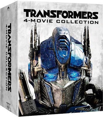 Transformers Quadrilogy (500 ONLY Zavvi Slipcover Blu-ray Steelbook Boxset) [UK]