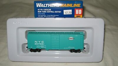 Walthers HO Scale 40 PS-1 Box Car New York Central//NYC//Jade Green #207599