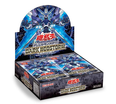 Yu-Gi-Oh Duel Monsters DARK NEOSTORM BOX Japan import NEW