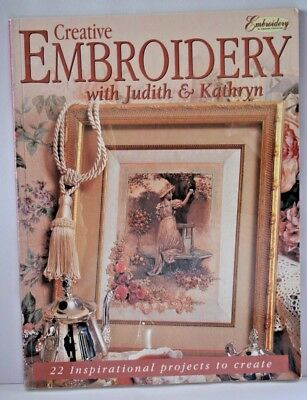 Creative Embroidery with Judith and Kathryn Book Silk Ribbon
