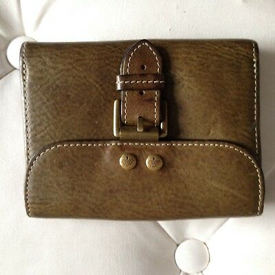 a93f50076e EARLY VINTAGE MULBERRY Brown Nile Print Purse Wallet - £127.00 ...