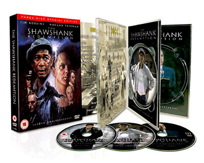 The Shawshank Redemption (3 DVD Box Set) Stephen King RARE LIMITED!