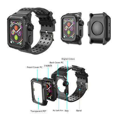 watch 00420 47f11 40MM 44MM SHOCKPROOF iWatch Band with Protective Case for Apple ...