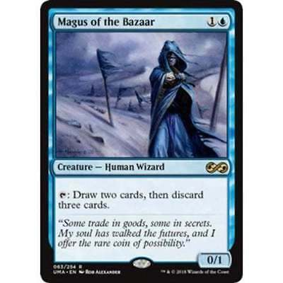 1x MAGUS OF THE BAZAAR - Ultimate Masters - MTG - NM - Magic the Gathering