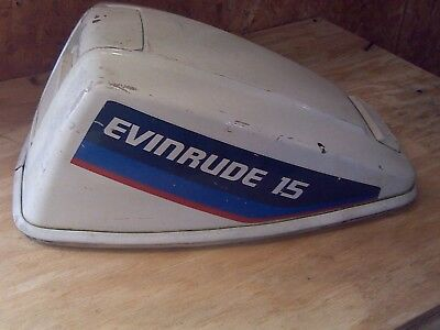 Evinrude 15 HP Cowling.