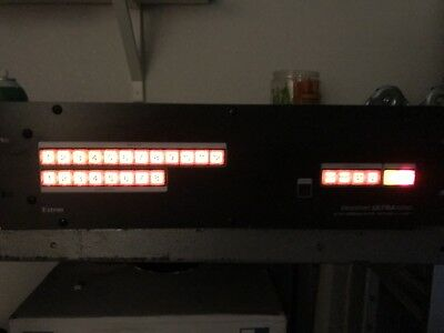 EXTRON CrossPoint Ultra Series 84 HVA Ultra WideBand Matrix Switcher with ADSP