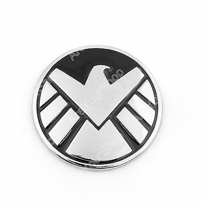 Avengers Marvel Agents of SHIELD Badge 3D Chrome Metal Auto Emblem Decal BS1