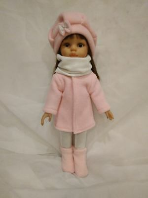 """Paola Reina 32cm 13""""-14"""" Doll Set with coat Clothes Girls"""
