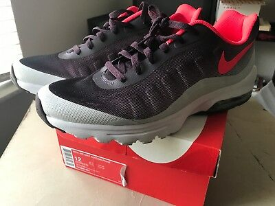Men's Nike Air Max Invigor Print 749688 601 Port Wine Red Running Shoes Size 12