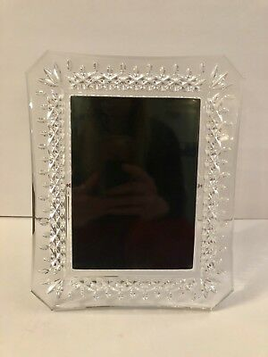 Waterford Lismore Crystal Photo Picture Frame 5x7 107750 New Msrp