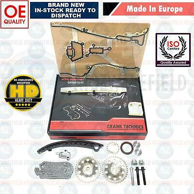 For Vauxhall Corsa C & D 1.0 1.2 1.4 Timing Chain Kit + Sprockets 2000-2010 New