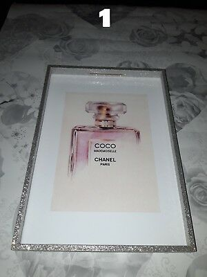 Coco Chanel Perfume Wall Art Poster Print Designer Perfume No5 Bottle