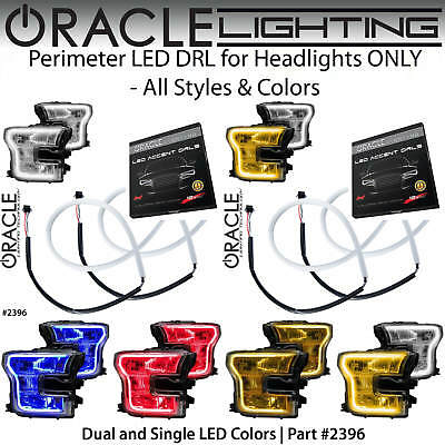 ORACLE Perimeter LED DRL for Headlights for 15-17 Ford F150 *All Colors #2396