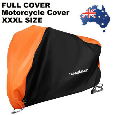 XXXL Motorcycle Cover Protector For Harley Davidson Motor Bike Protective Cover