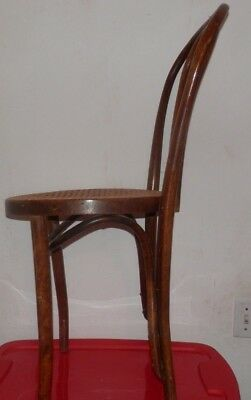 Rare Carved Antique  Thonet? Bentwood Cafe Dining Chair Romania