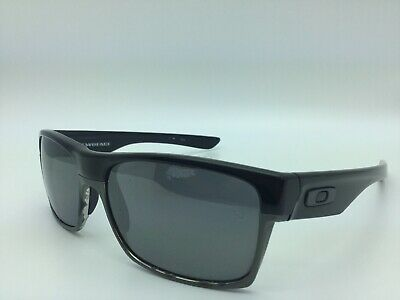 f40650d9573 Oakley Two Face Black   Chrome OO9189-01 Polarized Sunglasses Pre-owned