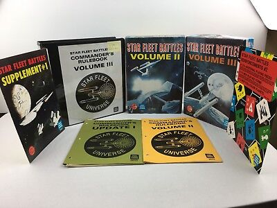 Star Fleet Battles Commander's Edition Rulebook Lot/Bundle Task Force Games