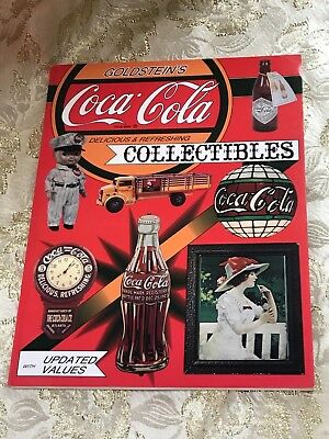 Coca Cola Collectibles w/Values by Sheldon &Helen Goldstein. Images.