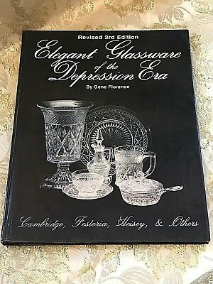 Depression Era Glassware by Gene Florence. Illustrated. Prices.