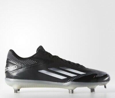 detailed pictures 10919 901f5 Adidas Adizero Afterburner 2.0 Black   Grey Cleat Shoes Men New NWT Size 8.5