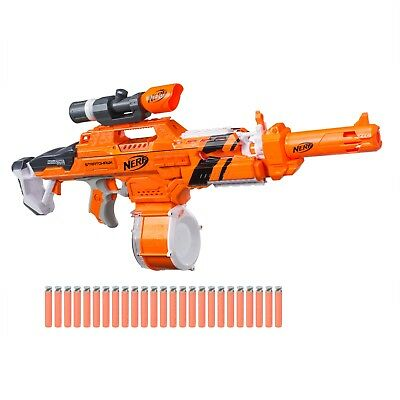 NEW Nerf N-Strike Elite AccuStrike Stratohawk Blaster + Scope + 25 Dart Drum