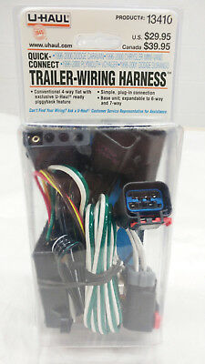 u haul 13410 quick connect trailer wiring harness for chryselr u haul trailer wiring u haul 13410 quick connect trailer wiring harness for chryselr, dodge, plymouth