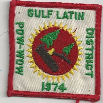 1974 Royal Rangers Gulf Latin District Pow Wow Patch