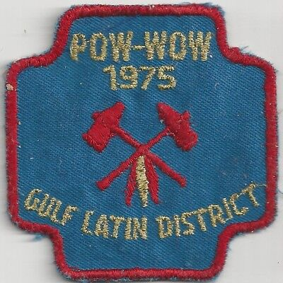 1975 Royal Rangers Gulf Latin District Pow Wow Patch